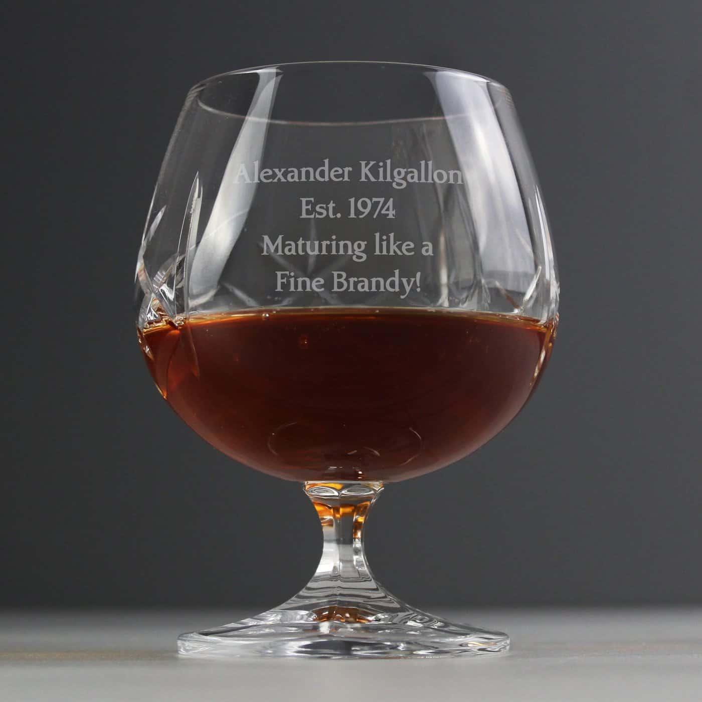 Crystal Small Brandy Glass