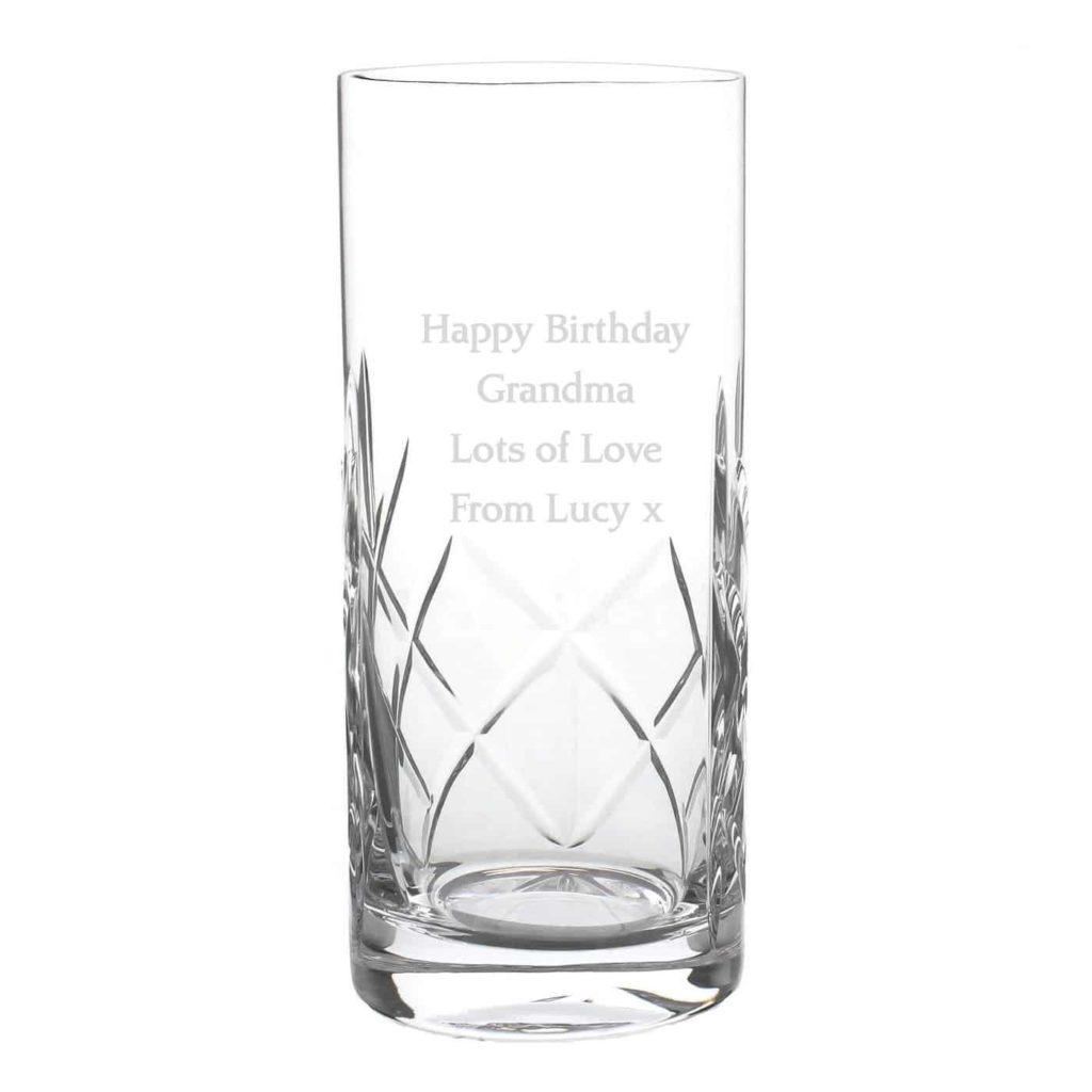 Crystal Hi Ball Glass