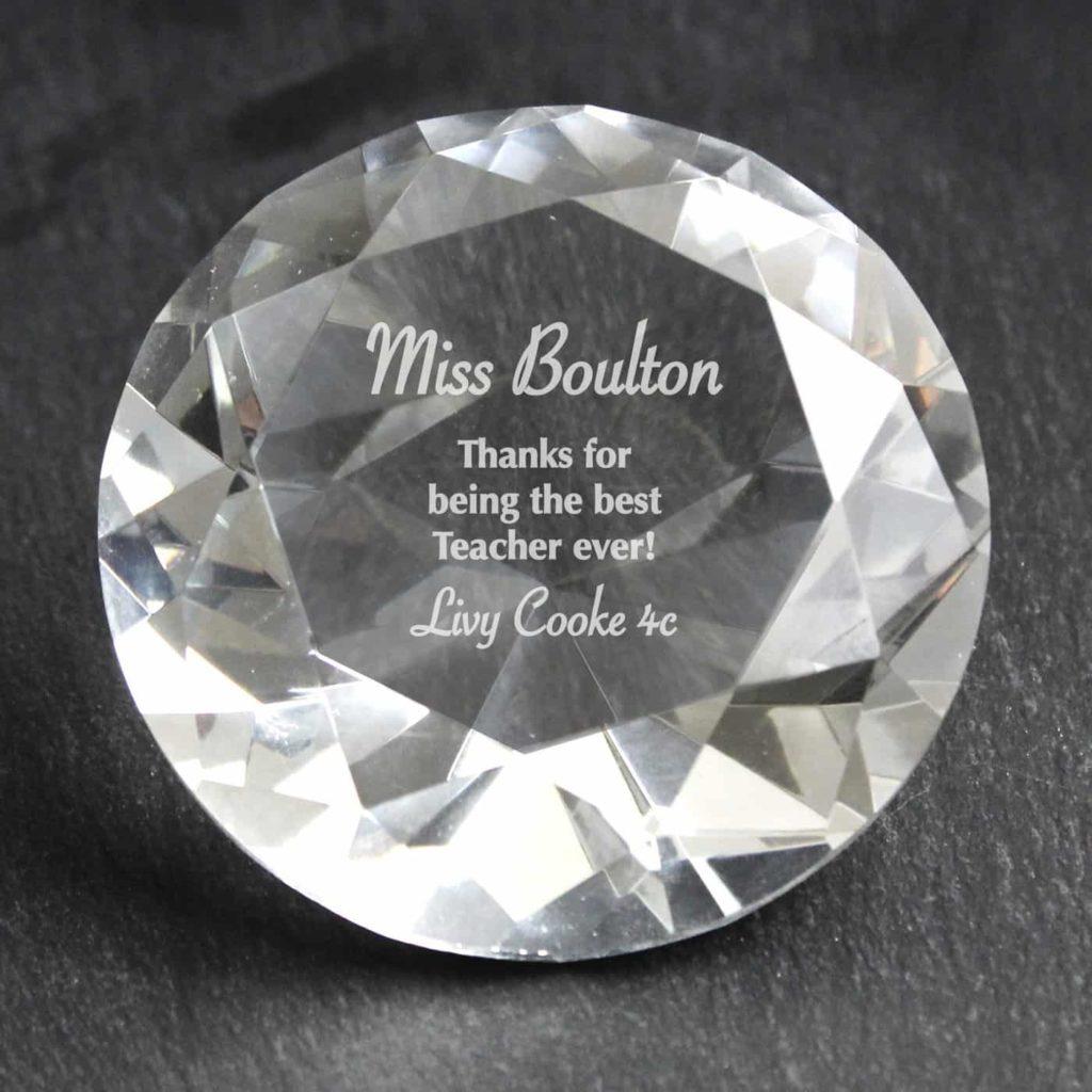 Occasion Diamond Paperweight