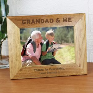 Grandad & Me 5x7 Photo Frame