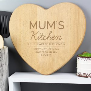 Heart of The Home' Wooden Chopping board