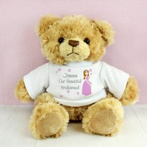 Fabulous Bridesmaid Message Bear