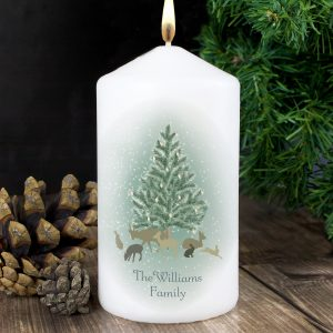 A Winter's Night Candle