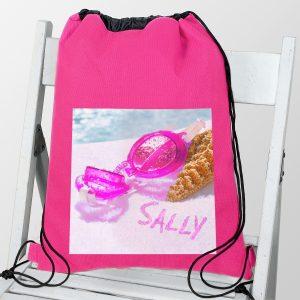 Swimming Goggles Pink Swim & Kit Bag