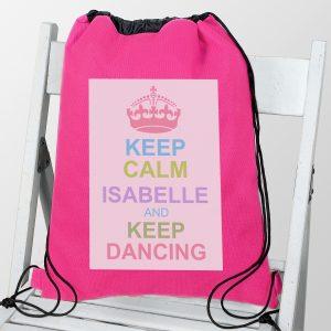 Pastel Keep Calm Swim & Kit Bag