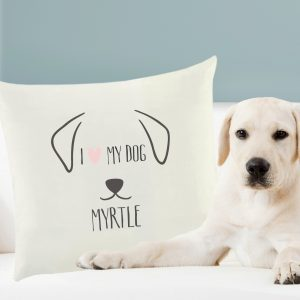 Dog Features Cushion Cover