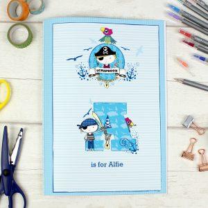 Pirate A4 Scrapbook