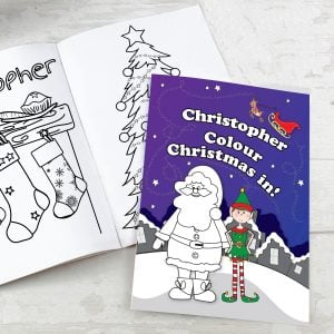 It's Christmas' Elf Colouring Book