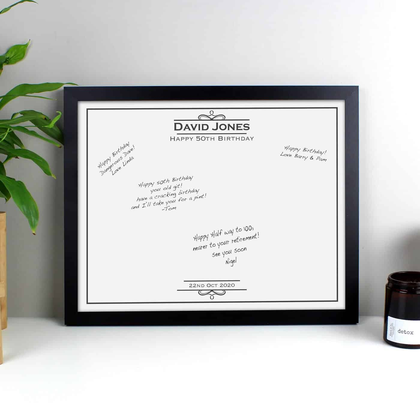 Occasion Guest Book Frame