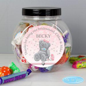 Me To You Girls Wedding Sweet Jar