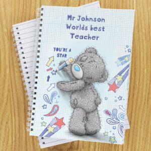 Me to You Teacher A5 Notebook
