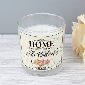 Shabby Chic Scented Jar Candle