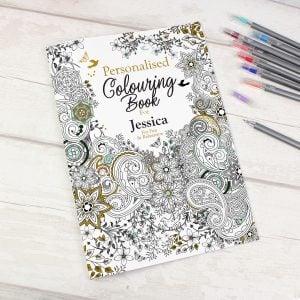 Botanical Colouring Book