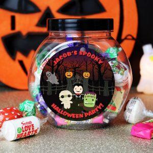 Halloween Sweet Jar