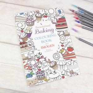 Baking Colouring Book