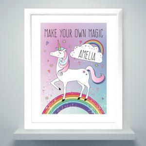 Unicorn Poster Frame
