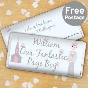 Fantastic Page Boy Milk Chocolate Bar