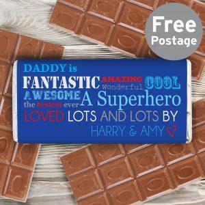 He Is Milk Chocolate Bar