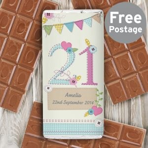 Birthday Craft Milk Chocolate Bar