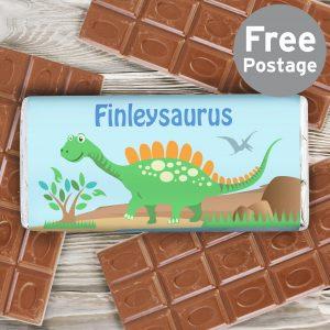 Dinosaur Milk Chocolate Bar