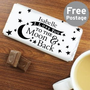 To the Moon and Back... Milk Chocolate Bar