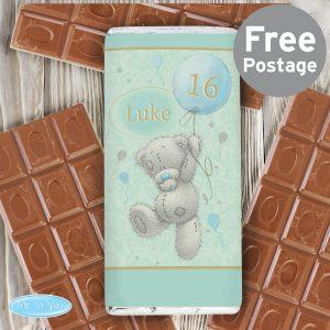 Me To You Balloon Milk Chocolate Bar
