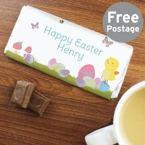 Easter Meadow Chick Milk Chocolate Bar