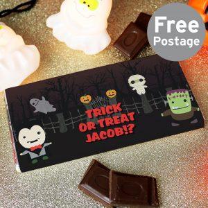 Halloween Milk Chocolate Bar