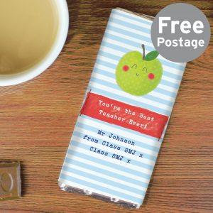 Happy Apple Milk Chocolate Bar