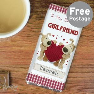 Boofle Shared Heart Chocolate Bar
