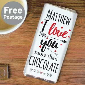 I Love You More Than... Chocolate Bar