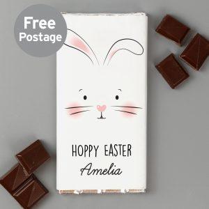 Bunny Features Milk Chocolate Bar