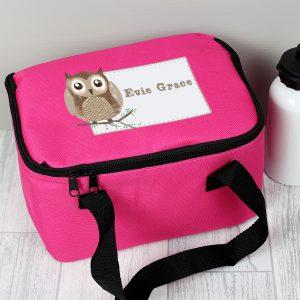 Woodland Owl Lunch Bag