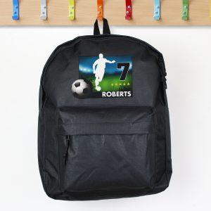 Team Player Black Backpack