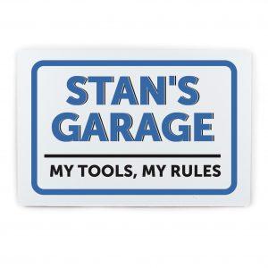 Garage Plaque