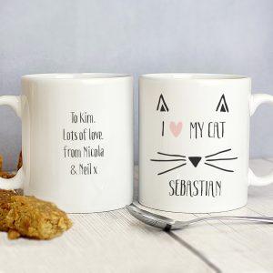 Cat Features Mug