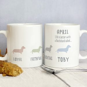 Dachshund Dog Breed Mug