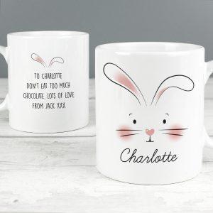 Bunny Features Mug