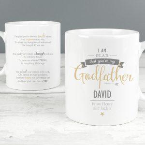 I Am Glad... Godfather Slim Mug