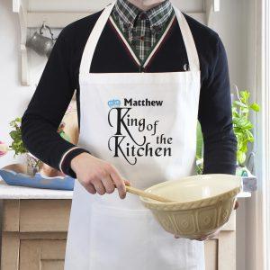 King of the Kitchen Apron