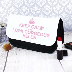 Keep Calm Make Up Bag