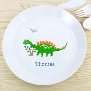 Dinosaur Plastic Plate