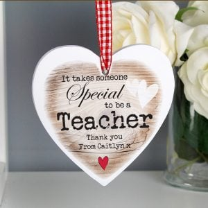 Someone Special Wooden Heart Shaped Decoration