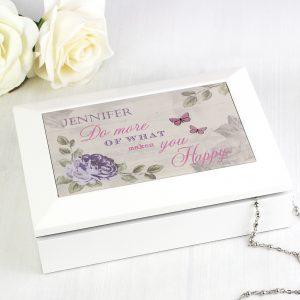 Secret Garden Jewellery Box