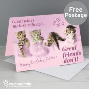 Personalised Rachael Hale 'Great Friends' Card