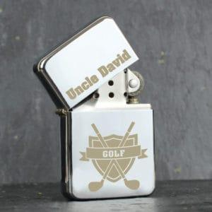 Personalised Golf Lighter