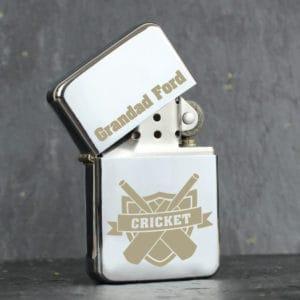 Personalised Cricket Lighter