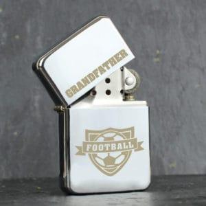 Personalised Football Lighter