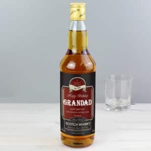 Personalised Happy Birthday Whisky