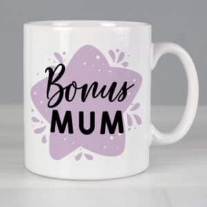 Personalised To My Bonus Mum Mug